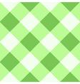 Green Flash White Diamond Chessboard Background vector image vector image
