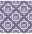 seamless stylish wallpaper vector image vector image