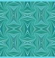 turquoise seamless abstract psychedelic spiral vector image vector image