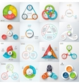 Big set of lements for infographic vector image vector image