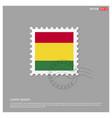 bolivia flag design vector image