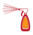 cleaning spray bottle icon vector image vector image