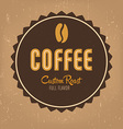 Coffe Label vector image vector image