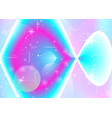 galaxy background with cosmos and universe shapes vector image