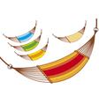 hammock set vector image