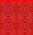 red seamless psychedelic abstract spiral stripe vector image vector image