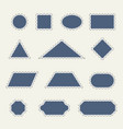 stamp templates in vector image vector image