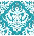 vintage damask seamless pattern vector image
