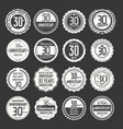 anniversary retro labels 30 years collection 2