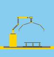 automotive industry conveyor factory robot machine