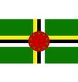 Dominica vector image vector image