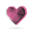Heart abstract isolated vector image vector image