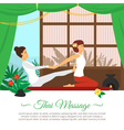 Massage And Healthcare vector image vector image