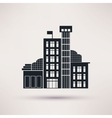 Tax authorities Building is an icon flat vector image vector image