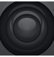 Black metal round shapes vector image