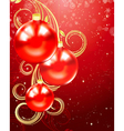 Christmas and holiday background vector image vector image