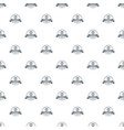 cube 3d printing pattern seamless vector image vector image