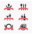 Emblem for restaurant vector image vector image