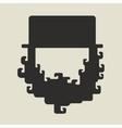 Irish St Patricks Day leprechaun icon vector image vector image