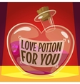 Love potion for you vector image vector image