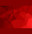 red color polygon abstract background vector image
