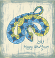 2013 new year vector image