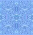 blue abstract hypnotic seamless striped vortex vector image vector image