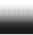 dotted gradient retro vector image vector image