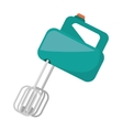 electric mixer cooking kitchen appliance vector image vector image