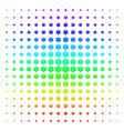 life star shape halftone spectrum pattern vector image vector image