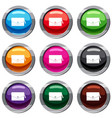 small bag set 9 collection vector image vector image