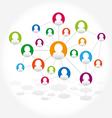 Social network internet chat community