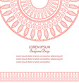 Template cards with pattern Ancient Egypt vector image