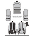 backpack design template
