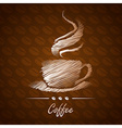 coffee cup16 vector image
