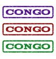 congo watermark stamp vector image vector image