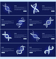 dna collection of web pages vector image
