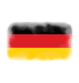 germany flag halftone vector image vector image