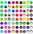 Glass buttons 081012 vector | Price: 1 Credit (USD $1)
