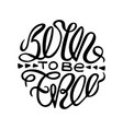 inspirational monochrome poster vector image vector image