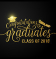 on black graduations background vector image vector image