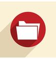 folder for documents vector image