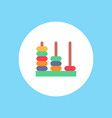 abacus icon sign symbol vector image