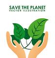 eco design vector image vector image