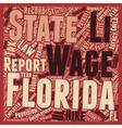 Payroll Florida Unique Aspects of Florida Payroll vector image vector image
