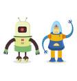 robots 2 vector image