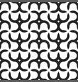 seamless geometric pattern - modern black vector image vector image