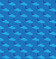Seamless pattern of a night vector image