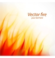 Fire flame vector image