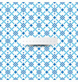 digital texture trendy pattern with blue color vector image